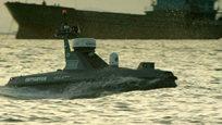 中国首款高速三体无人船亮相 可用于岛屿巡逻
