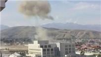 中国驻吉尔吉斯使馆被撞爆炸