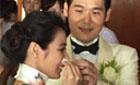三度错失豪门后,37岁陈怡蓉终披嫁衣激动落泪(图)