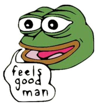 这青蛙表情包以后就别用了 小心被打成种族主义者图片