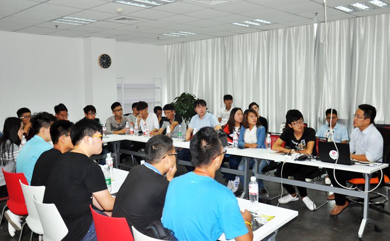 大学生专业组视频创作交流会