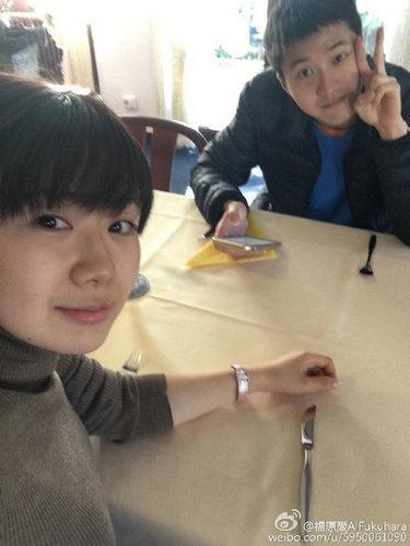 福原爱变身家庭主妇角色                   网友:江先生好幸福