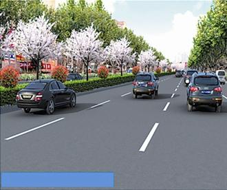 劲松三路改造本月完成 改善周边通行效率