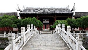 安徽桐城文庙见证文化乡邦成长