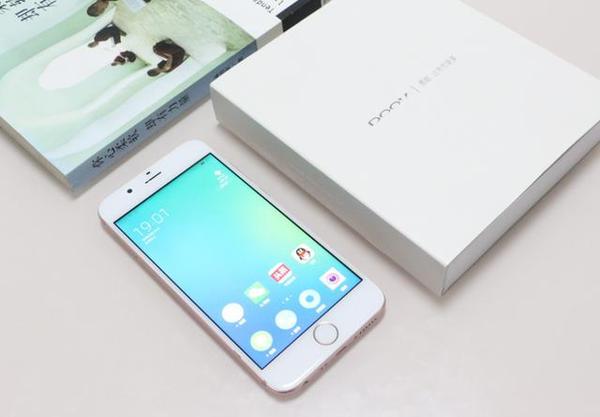 的智能手机新品:朵唯l9