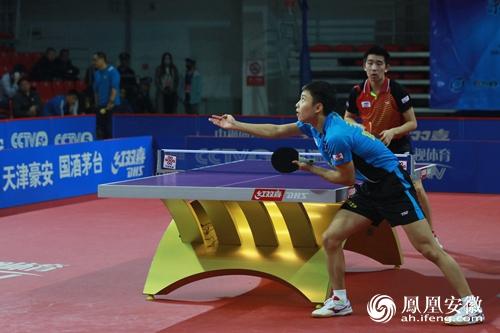 朗坤客胜天津豪安 安徽迎来乒乓职业联赛首胜