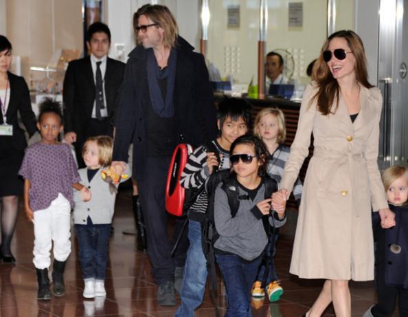 朱莉难获6个孩子监护权?被曝俩孩子想跟爸爸住