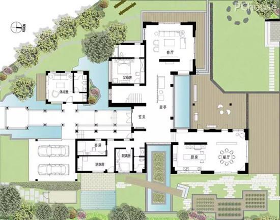 未来别墅平面图