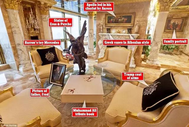 特朗普豪宅曝光 看看美国新任总统家里都藏些啥? - 子泳 - 子泳WZ的博客