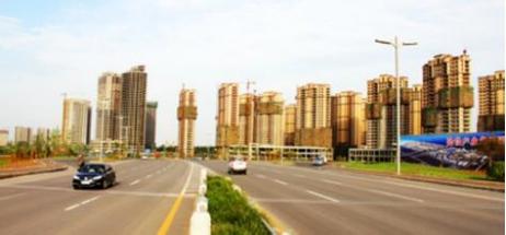 洛阳伊滨区-中电银河湾视角 美丽伊滨区正在崛起中