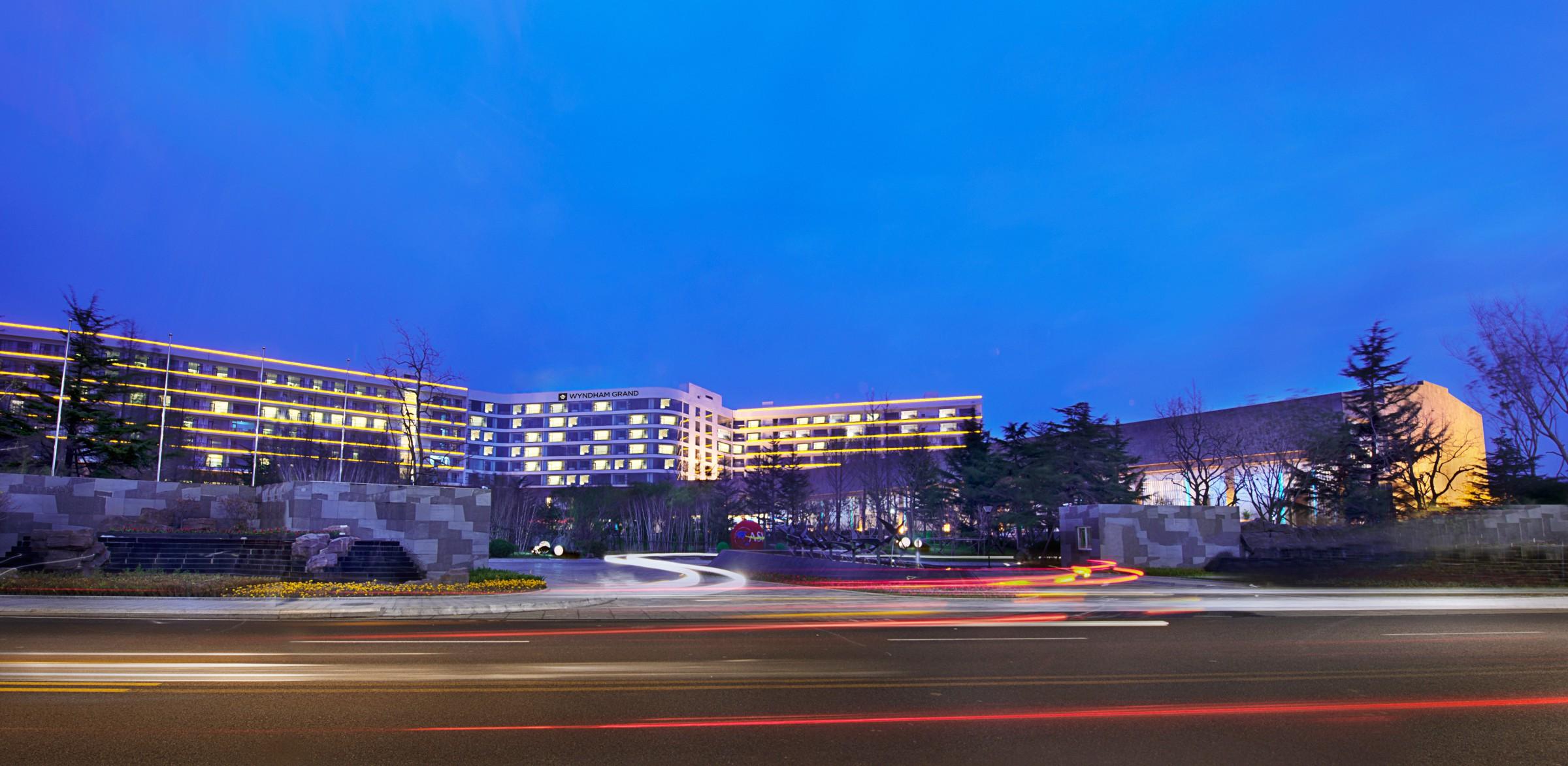 青岛银沙滩温德姆至尊酒店 感恩三周年与您携手度过