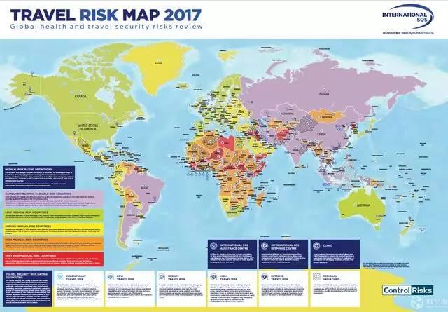 2017世界年度旅游风险地图出炉 ĸ�国属危险较低国家 Ň�凰旅游