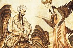 安拉派天使传达其启示去创造伊斯兰教图片