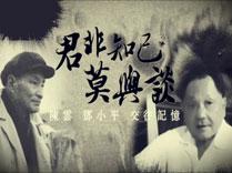 陈云邓小平交往记忆
