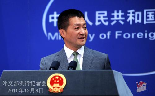 特朗普声称中国应该对美贸易赤字负责 中方回应