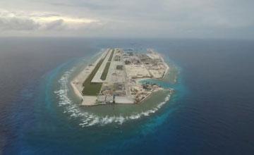 南海不沉航母:中国西沙南沙岛礁已成海上城市