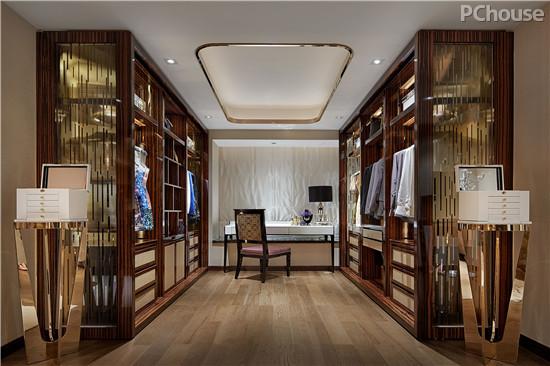 设计天衣无缝 淡化奢华后的温馨空间