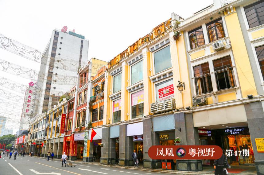 骑楼被认为是北京路历史文化街区的标志性建筑。