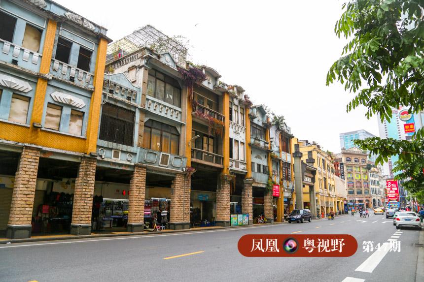 此外,北京路一带还有一些稍显古旧的骑楼群,成为老城区肌理的一部分。