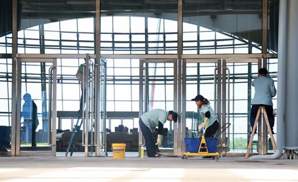 5月11日布展单位会大规模进场施工
