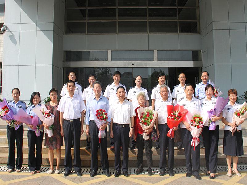 省厅和学院领导教师节慰问