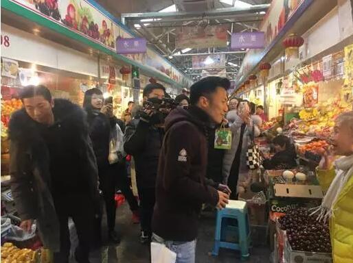 谢霆锋带火神奇菜市场 明星为啥爱在这买菜?