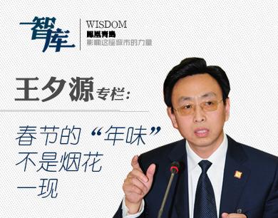 """王夕源:春节的""""年味""""不是烟花一现"""