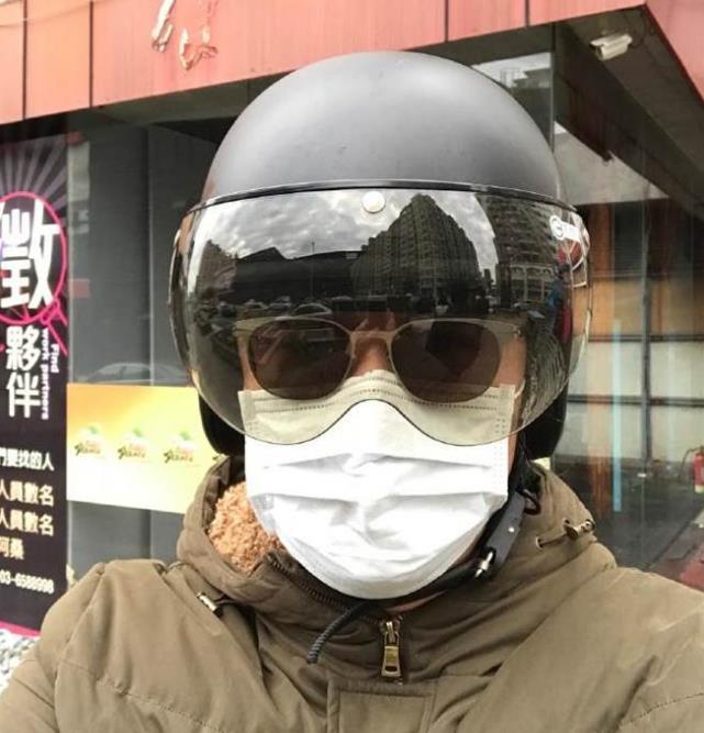 会怕?黄安包裹严实悄悄回台湾过年