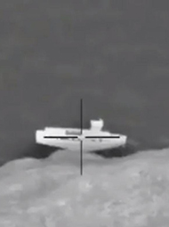 美空军轰炸IS船只画面曝光