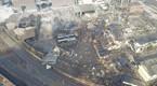 高清组图:航拍铜陵化工厂爆炸现场