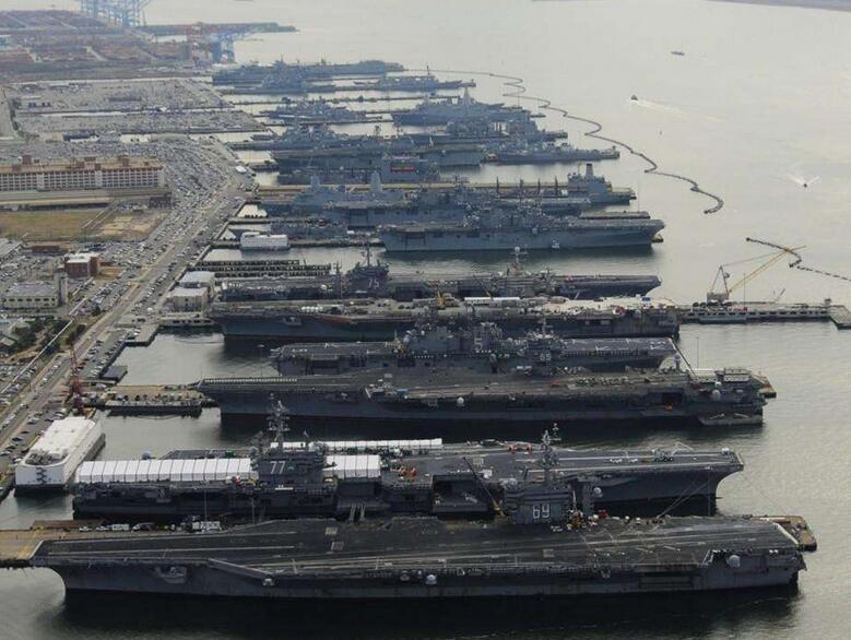 未来亚洲第一军港!俯瞰中国航母编队基地 - 今日延安 - 今日延安影视音画博客