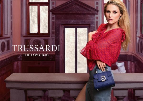 Trussardi推出2017全新春夏系列 LOVY 包袋