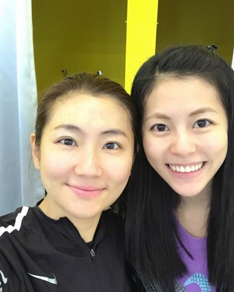 Selina微博晒与妹妹合影美照 却遭网友喊话:快减肥