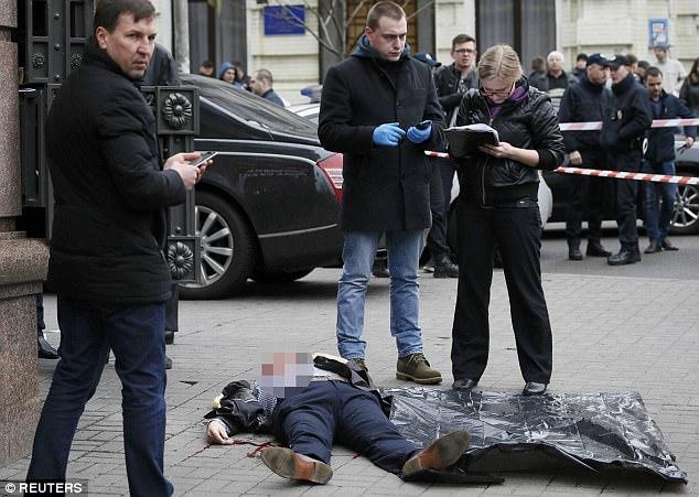俄罗斯一前共产党议员在乌克兰首都遭枪杀 (组图)