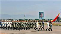 巴基斯坦国庆阅兵 中国三军仪仗队