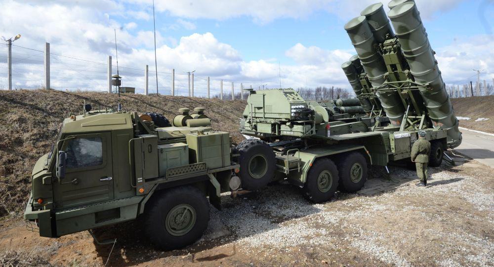 俄罗斯否认已向中国交付首批S-400防空导弹系统