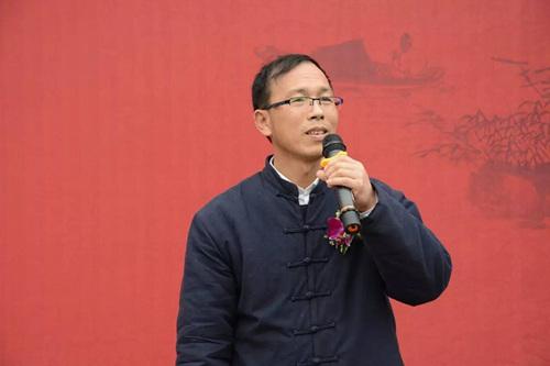 吴中区书协主席卢月龙先生致辞