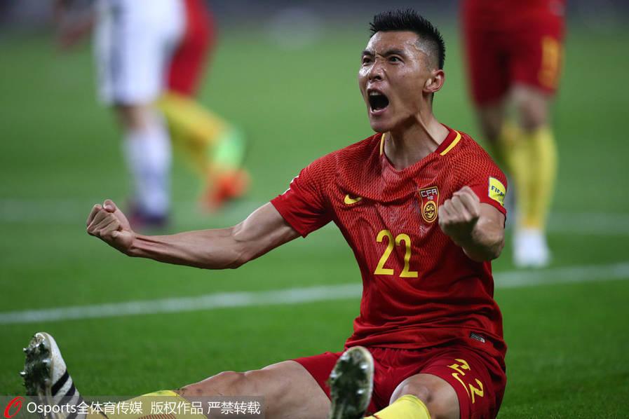 世预赛-于大宝一锤定音 国足1-0韩国取12强赛首胜