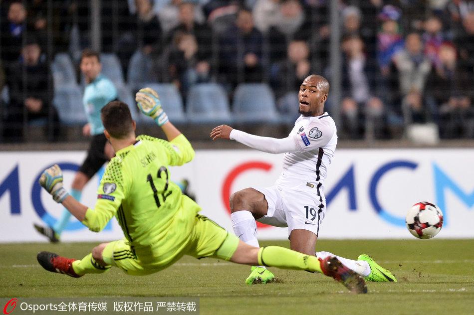 世预赛法国3-1卢森堡 继续位居头名