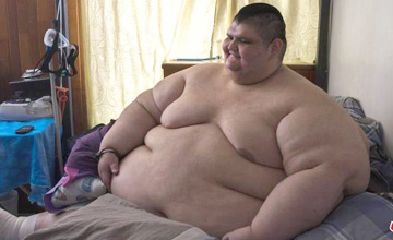 半吨男子瘦下来之后