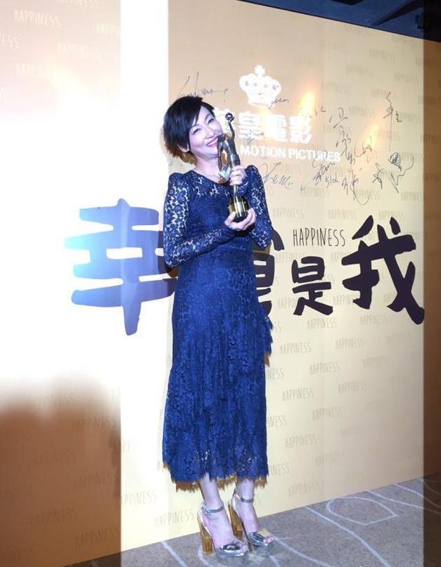 惠英红获金像奖最佳女主角 发文感谢粉丝不离不弃