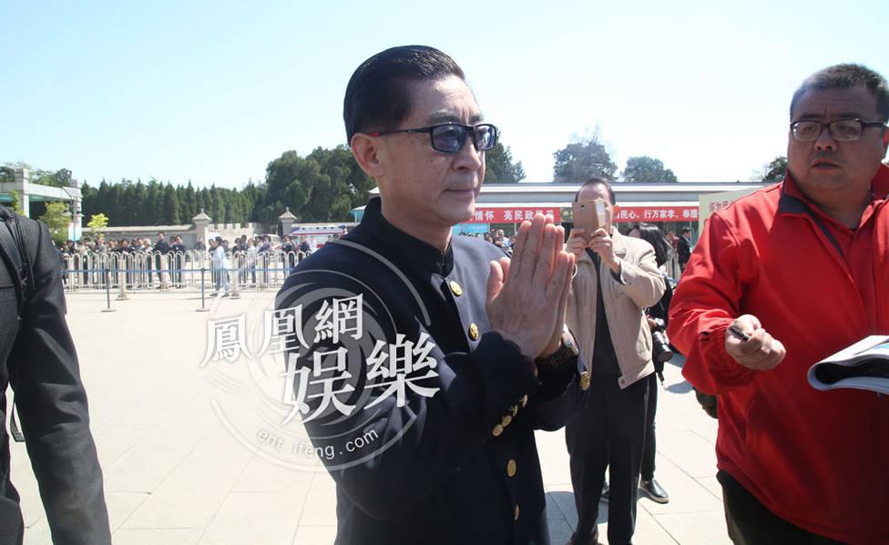 杨洁导演追悼会:迟重瑞六小龄童等师徒四人再聚首