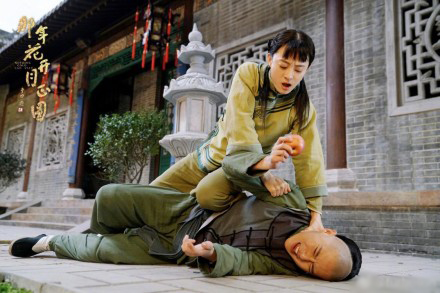 孙俪:我们戏里的男演员,几乎每个人都被我打过(图)