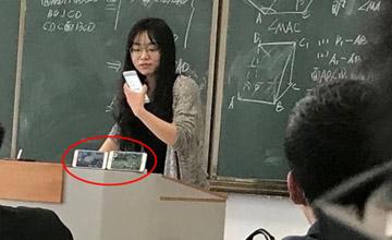 学生上课玩手游 女老师使出一招让他绝望了