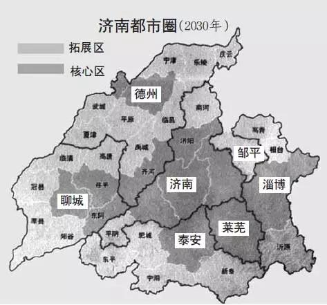青岛地区划分图