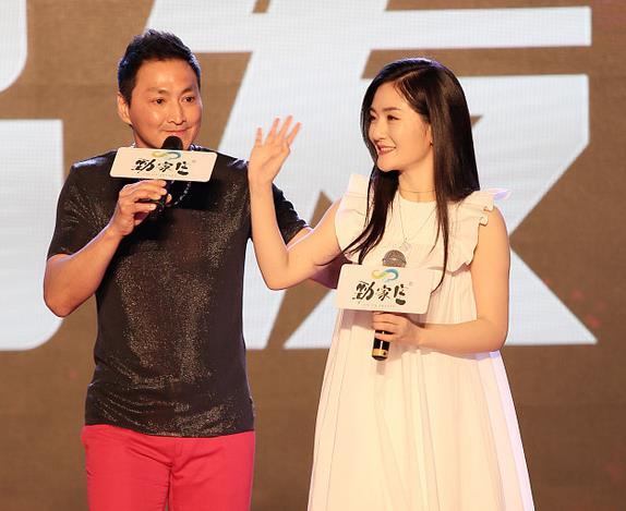 """谢娜为何家劲撑场站台 57岁""""展昭""""脸有些奇怪"""