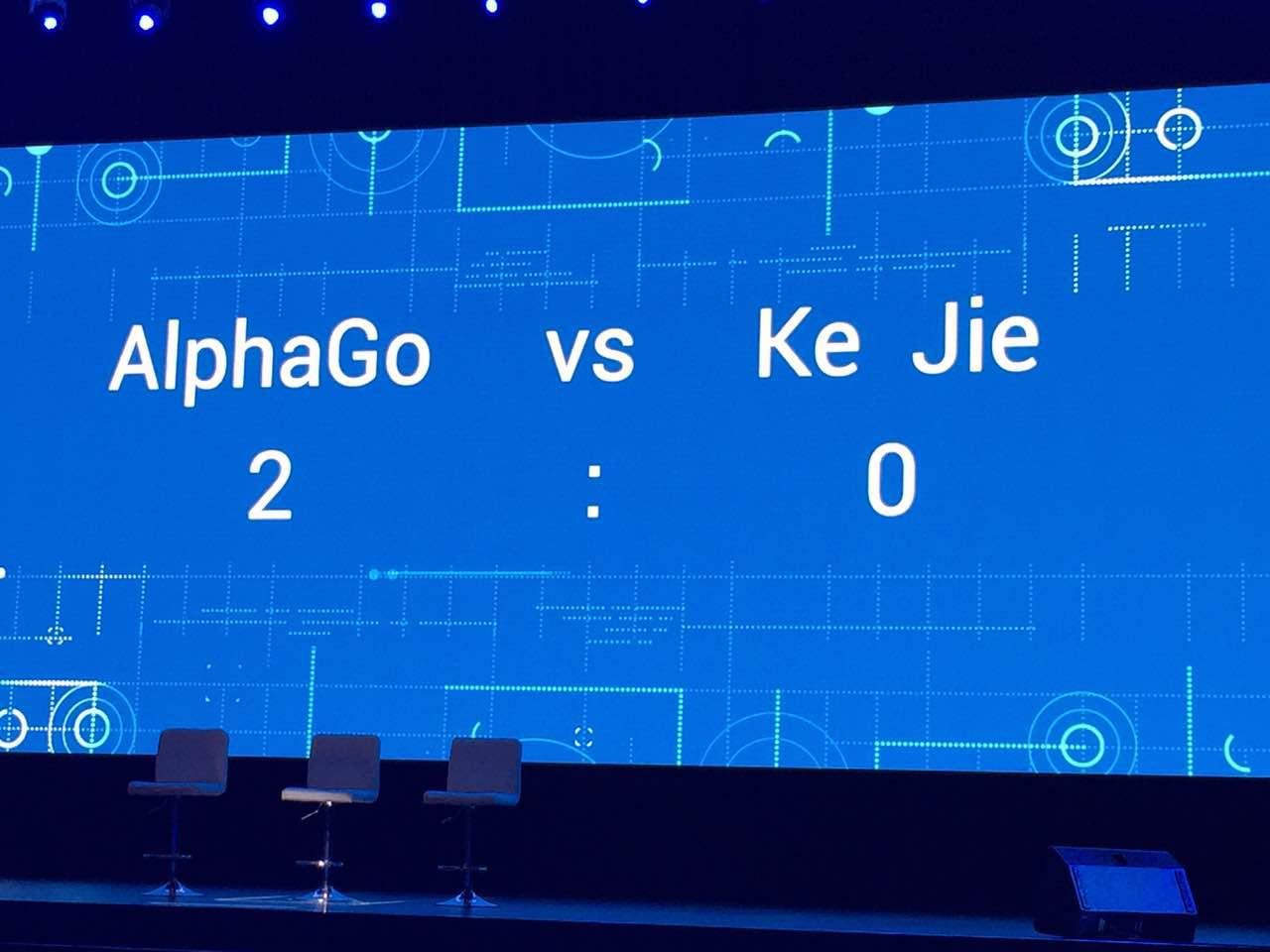 2:0 – 柯洁盘中认输,AlphaGo赢下第二场比赛的照片 - 3