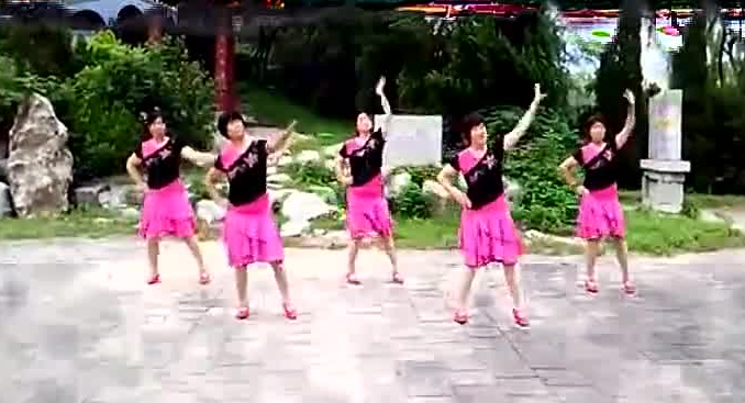 兰梦广场舞《草原的夏天》