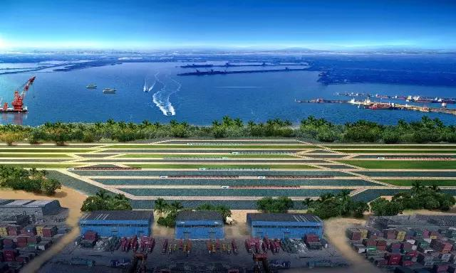 """世界超级大港的""""生命线"""":董家口港区疏港铁路_青岛"""