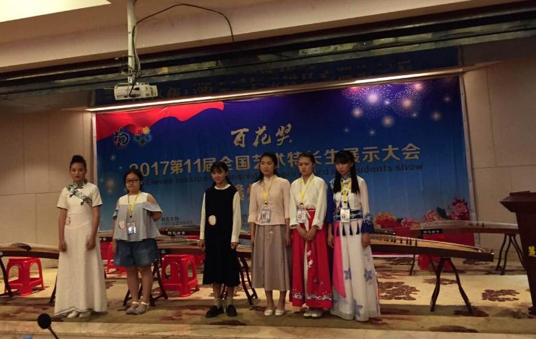 全国艺术特长生大赛赣州赛区 安远二中8名学生获奖